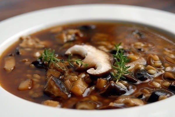 Кислый грибной суп