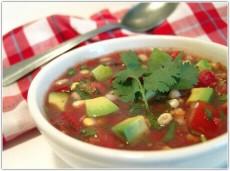Холодный суп из овощей