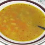 Гороховый суп с луковником