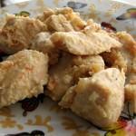 Курица маринованная в кефире с овощами