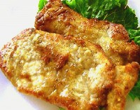 Мясные лепешки с сыром