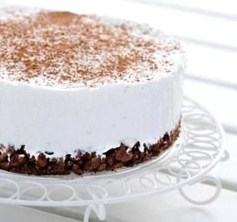 Творожный фитнес торт 183 ккал
