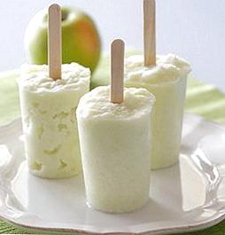 Яблочный сорбет фото