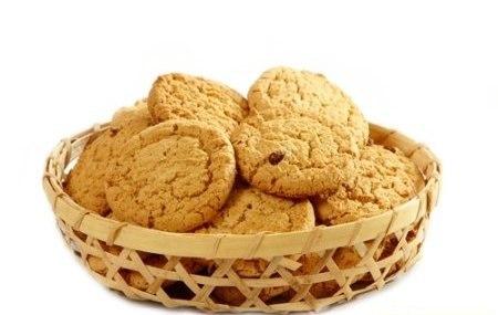 Диетическое печенье с овсянкой и яблоком