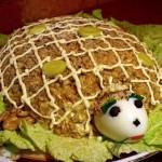 Слоеный салат Черепаха