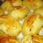 Тающий картофель