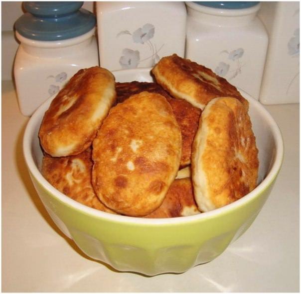 Быстрые пирожки с картошкой и мясом фото