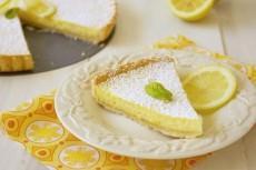 Французский лимонный тарт фото