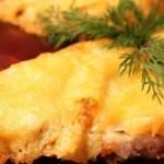 Говядина с сыром в сметане