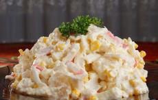 Лучший салат из крабовых палочек