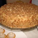Оригинальный торт Наполеон (за пол часа)