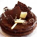 Шоколадный пирог за 20 минут