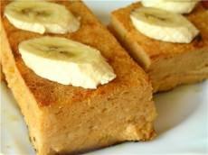Творожно-банановая запеканка фото