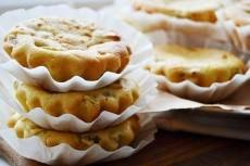 Творожно-банановые кексы с киви фото