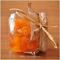 Варенье из апельсиновых корок Завитушки фото