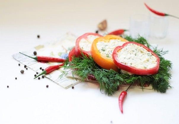 Закуска из болгарского перца фото