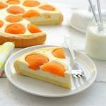 Абрикосовый творожной пирог
