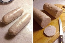 Домашняя варёная колбаса фото
