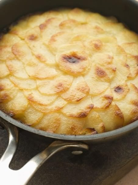 Картофельная запеканка фото