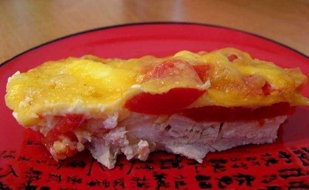 Мясо по-французски из курицы фото