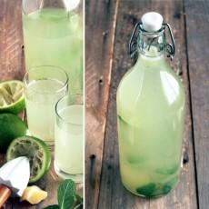 Напиток от жары - мятный лимонад фото