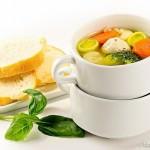 Суп с цветной капустой, брокколи и фрикадельками
