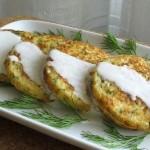 Лепешки из цветной капусты с сыром