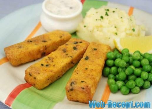 """""""Рыбные"""" палочки из тофу"""