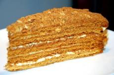 вкусный торт рыжик