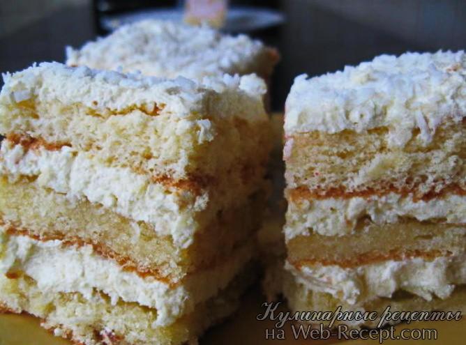 Белый торт фото