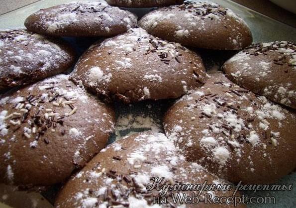 как приготовить шоколадное печенье фото