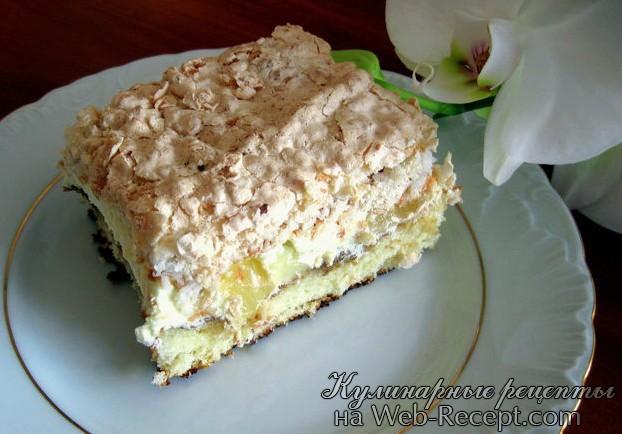 Ананасовый торт фото