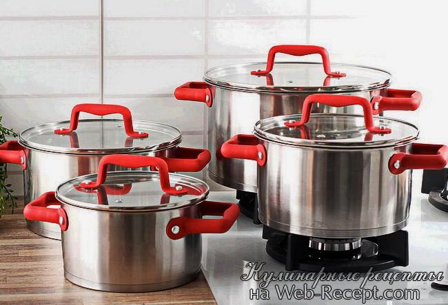 Как правильно выбрать посуду для кухни фото