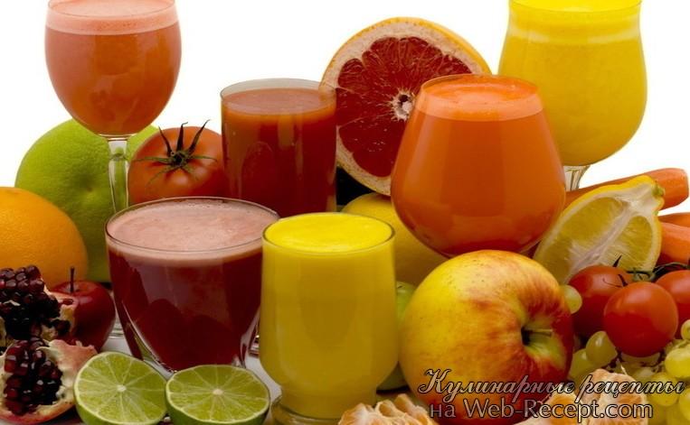 Свежевыжитый сок из апельсина, моркови, яблок и имбиря фото