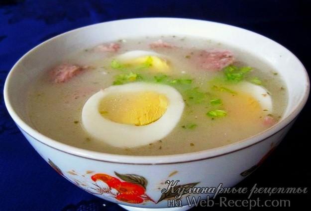 Суп из закваски фото