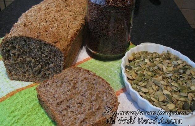 Хлеб пшенично-ржаной фото