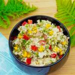 Салат из тунца и Кус-куса