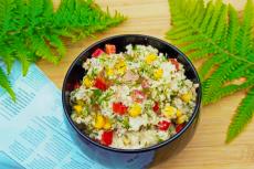 Салат из тунца и Кус-куса фото