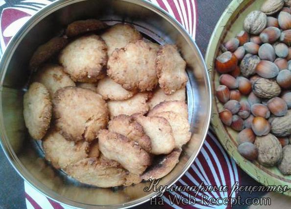 Ореховое печенье с кардамоном фото
