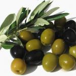Салат из квашеной капусты с маслинами и оливками