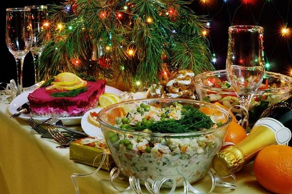 Блюда на новый год ч. 1 Новогодний ужин – готовое меню на новогодний ужин фото