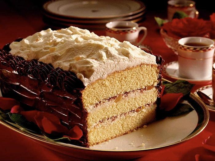 Блюда на новый год ч. 2 Торты и кексы фото