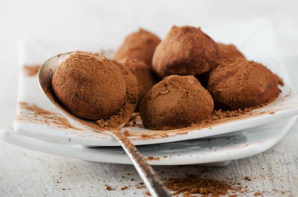 Шоколадные трюфели по-домашнему фото