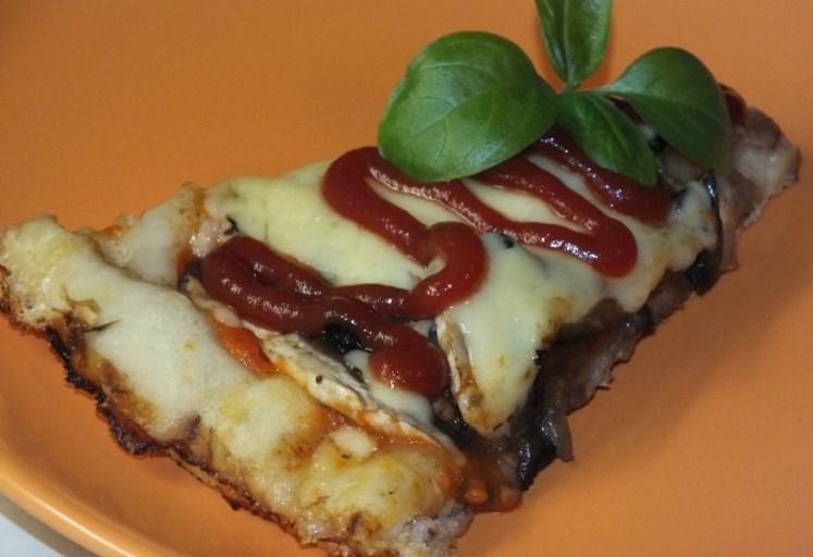 как приготовить пиццу с грибами и сыром