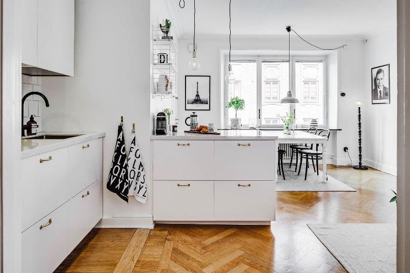 удобная и комфортная кухня
