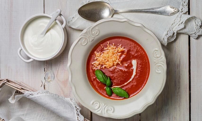 Крем из помидоров фото