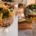 Слоеный салат на Новый год