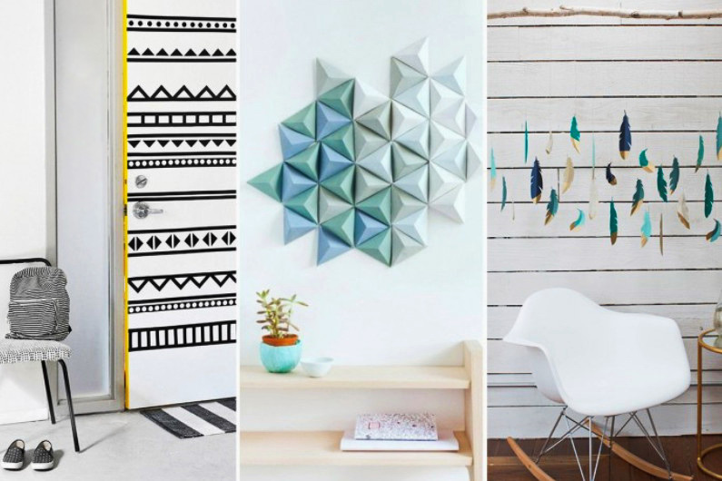 15 DIY-способов как недорого украсить квартиру