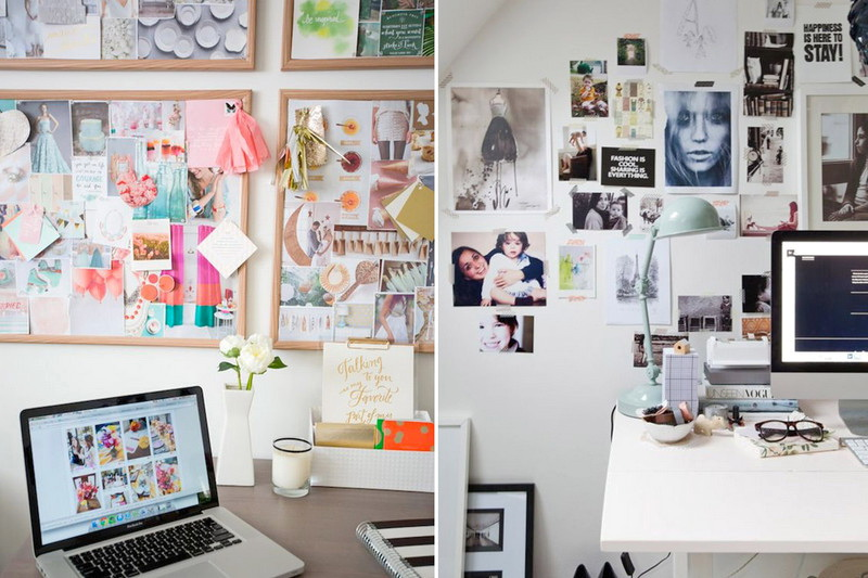 Стена творчества, доска вдохновения