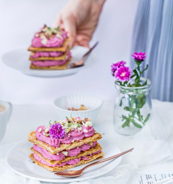 Millefeuille – французский десерт, фото